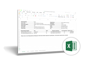 Bid Tabulation – Excel Example Download