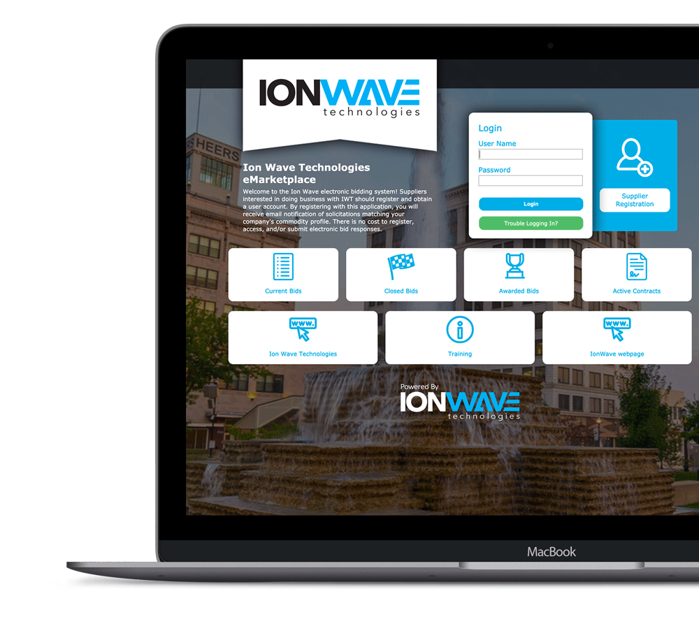 IWT-Login-Page - Ion Wave Technologies