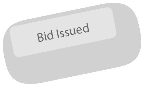 bid issued