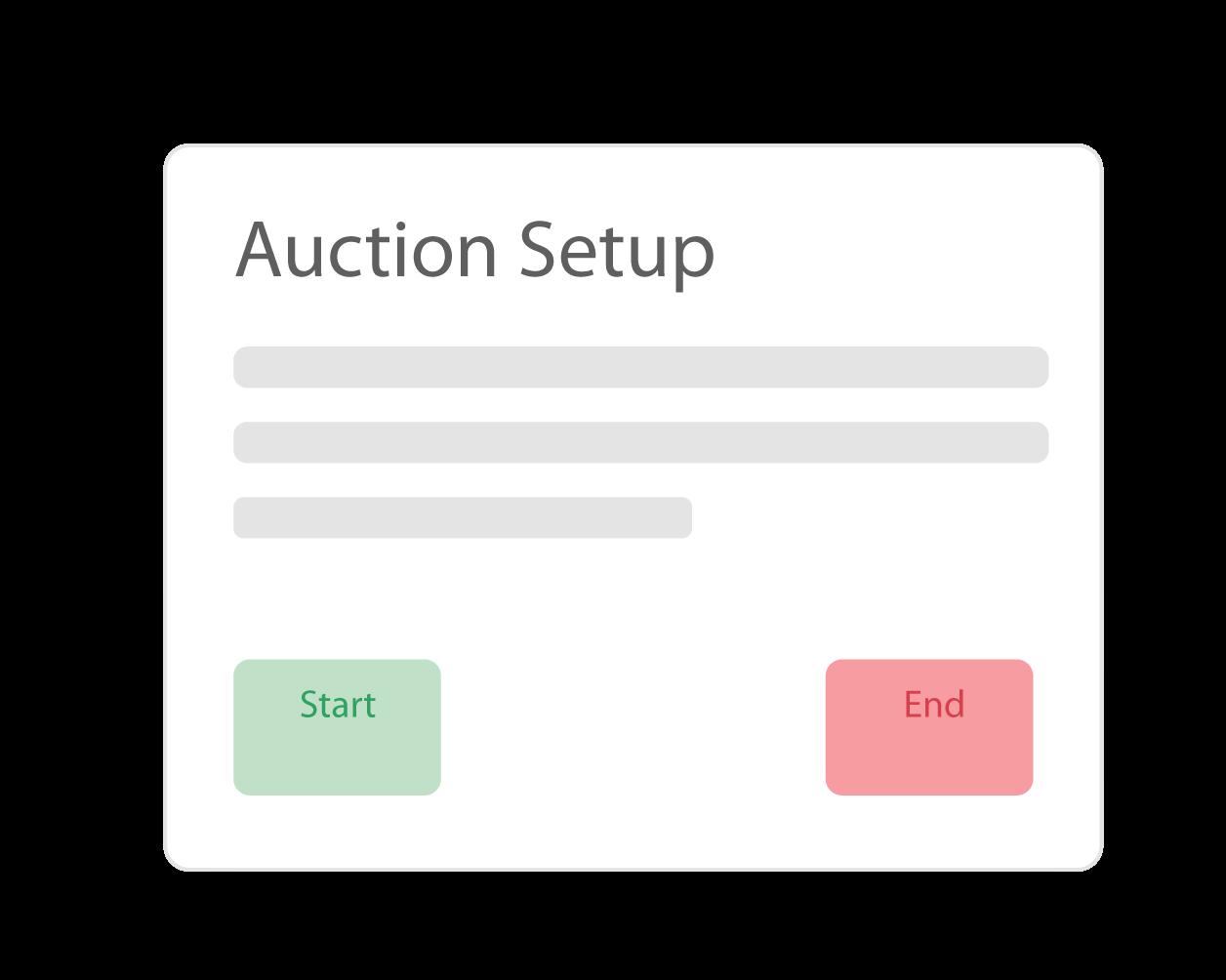 auction settings
